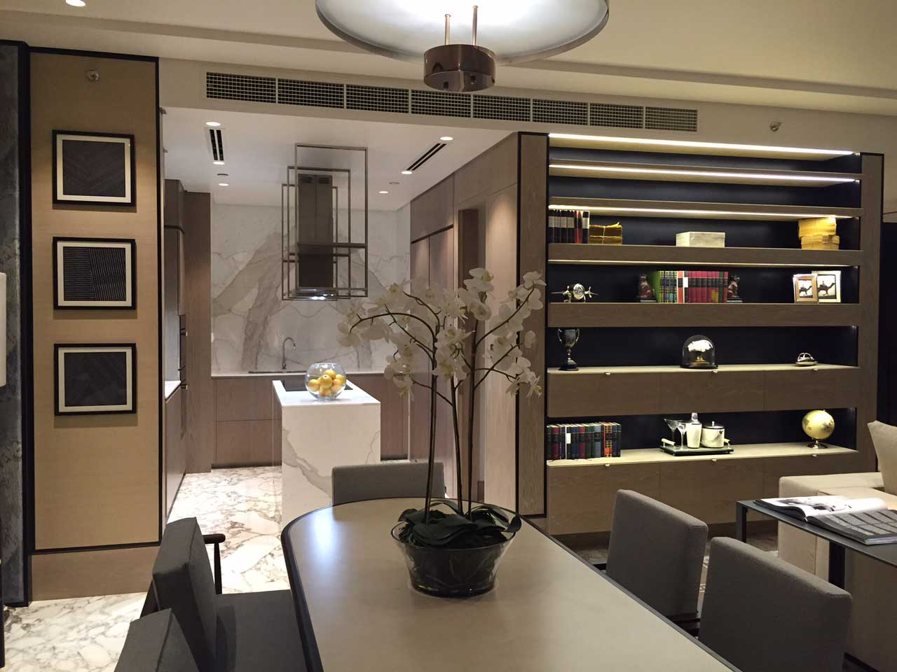 Fit out project waldorf astoria hotel in dubai finasi llc for Design hotel waldorf