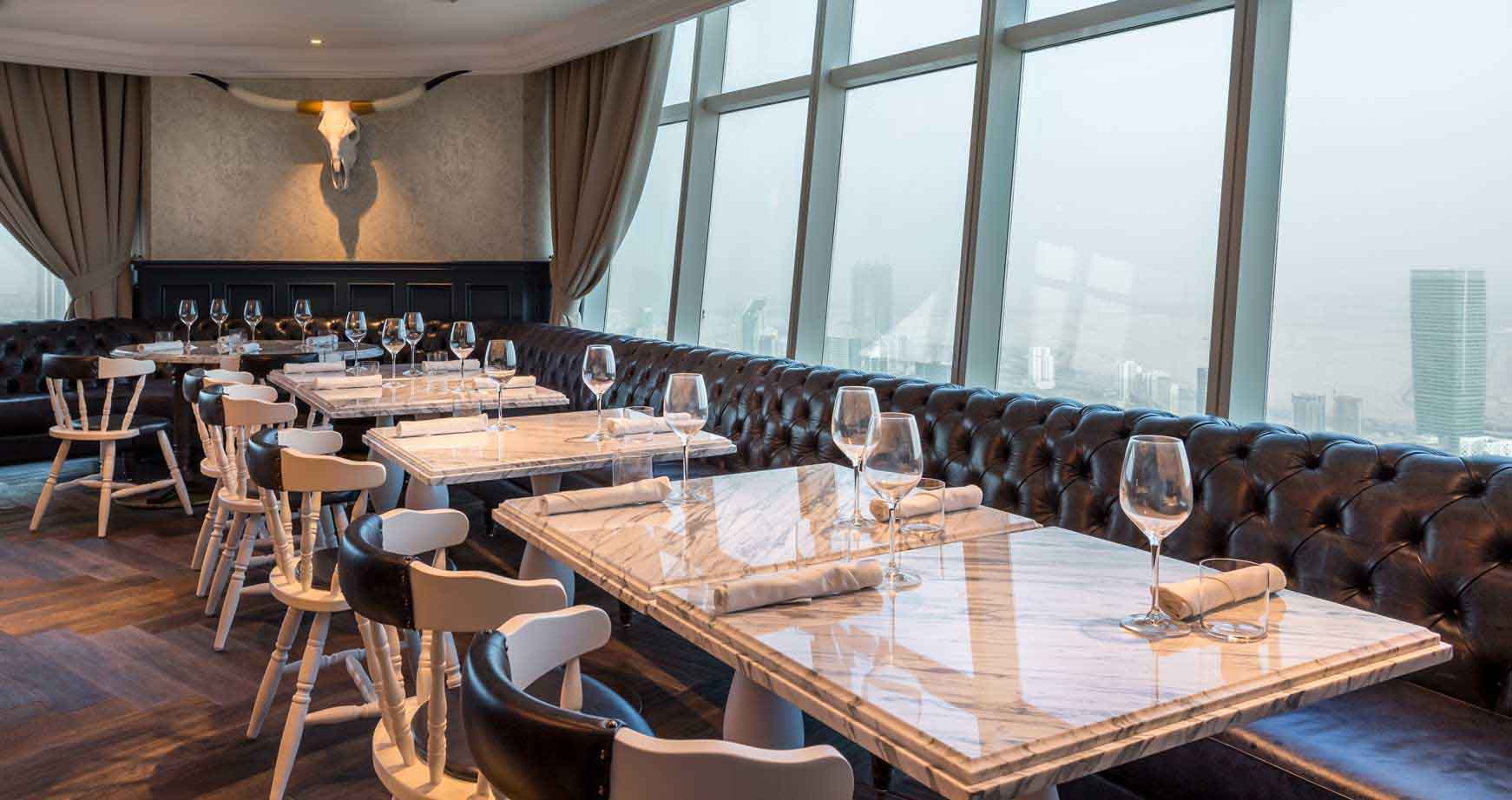 Fit out project weslodge restaurant in dubai finasi llc for Hotel in dubai design district